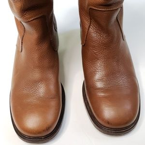 Cole Haan Shoes - Cole Haan Kody Mid Calf Brown Leather Boot S33